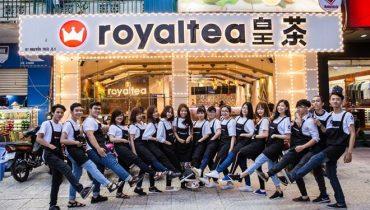 Trà sữa Royaltea – Thương hiệu Hồng Kông say lòng người Việt
