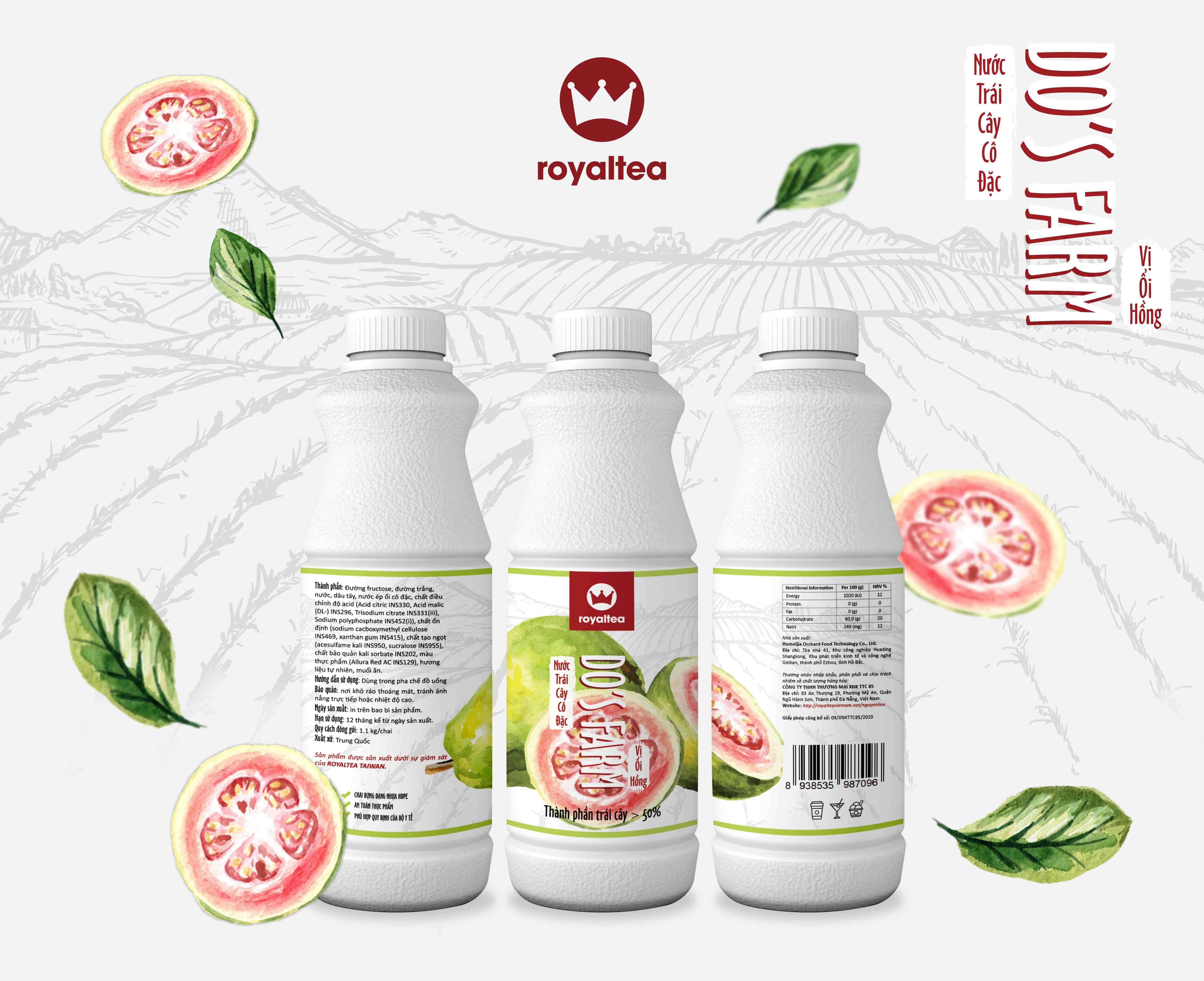 Nước trái cây cô đặc – vị ổi – 190.000 VNĐ